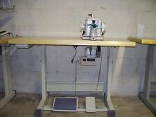 INDUSTRIAL  FUR SEWING  MACHINE  WITH SERVO  Taurus GP302,