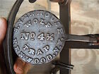 RARE Newhouse KENWOOD N.Y. 4½ Wolf Trap with Chain and Drag. SHARP NICE PAN!