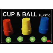Magic Trick   Cups and Balls (Plastic) by Premium Magic