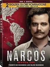 NARCOS SEASON TV SERIES COMPLETE SEASON ONE 1 New Sealed 4 DVD Set