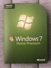 Microsoft Windows 7 Home Premium Upgrade 32 Bit Used