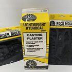 Woodland Scenics Lightweight Hydrocal Casting Plaster & Rock Molds