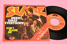 "SLADE 7"" MERRY XMAS EVERYBODY ORIG ITALY 1974 EX+ !!! TOP COLLECTORS !!"