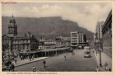 Postcard City Hall Grand Parade Bus Terminus Capetown South Africa