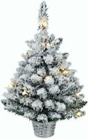 60cm Pre-lit Table Top 15 LED Christmas Tree