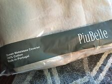 NIP PiuBelle Queen Matelasse Coverlet Shabby Chic French Country Ivory
