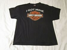 Harley Davidson Monadnock Keene New Hampshire Double Sided Graphic T-Shirt XL