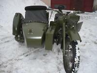 Dnepr K-750, MW 750, Ural M72 Gewehrhalter 2 Stück für vorne u. hinten