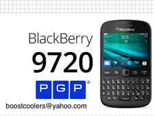Blackberry 9720  PGP Off The Record  More Secure  Then Phantom Secure  3 Month