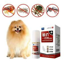 Pet Dog Puppy Cat Insecticide Spray Anti-flea Flea Lice Insect Killer I6D9