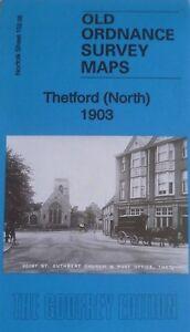 Old Ordnance Survey Maps Thetford (North) Norfolk 1903  Godfrey Edition Offer