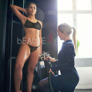 110 Pcs Disposable Bras & Bikinis Spray Tanning Set (DB101B-50x1+DP105Rx5)