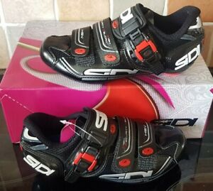 SIDI GENIUS 7 WOMAN BLACK CYCLING SHOES SIZE EUR 35 US 3 1/2 BRAND NEW IN BOX WT