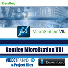 Bentley Microstation V8i , V8i Level 2 And V8i 3D Video Training 3 Courses Pack