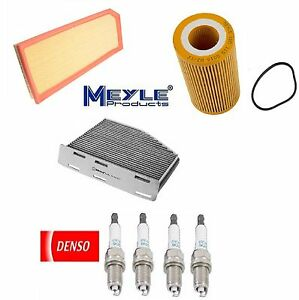 Tune Up Kit Cabin Air Oil Filters Plugs for Volkswagen Passat 2.0L 2006-2008