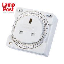Timeguard ts800b COMPACT 24 ore SCALDABAGNO / immersione PLUG IN Timer con pin