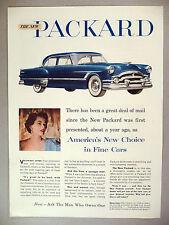 Packard Car PRINT AD - 1953