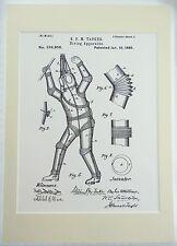 Patent art print - Diving apparatus - Underwater suit - Victorian invention #9