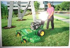"*John Deere Dealers 54"" Commercial Walk-Behind Mower Postcard New Old Stock!1997"