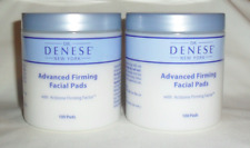 DR DENESE ADVANCED FIRMING FACIAL PADS 200 CT ~ NEW SEALED 2 X 100 PADS *READ*