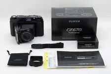【UNUSED in BOX】 Fujifilm GF670 Professional Black Medium Format From Japan #1695