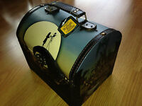 Nightmare Before Christmas Jack and Sally Hilltop  Vintage Carrying Case