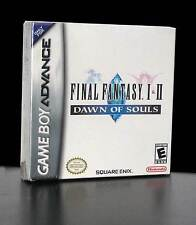 FINAL FANTASY 1 & 2 DAWN OF SOULS GIOCO NUOVO GAMEBOY ADVANCE SP ED NTSC PG534