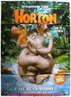Horton Movie Plakat Gebogen 160x120 Plakat Kino Dany Boon