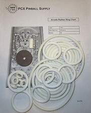 1951 Williams Arcade Pinball Machine Rubber Ring Kit