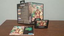 Taz-Mania (Sega Genesis, 1992) COMPLETE INTERNATIONAL VARIANT