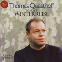 THOMAS QUASTHOFF/CHARLES SPENCER - WINTERREISE (FRANZ SCHUBERT) CD 24 TRACKS NEU