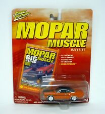 JOHNNY Rayo 1970 Plymouth GTX MOPAR MUSCLE REVISTA Die-cast MOC 2004