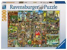 Ravensburger Colin Thompson Bizarre Town Jigsaw Puzzle ( 5000 PCS )