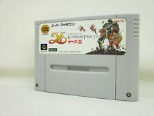 Super Famicom YS III 3 Video Game Nintendo Cartridge Only sfc