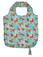 Foraging Fox Design Roll Up Bag - Perfect for Swimming Gear / Picnics / Beach