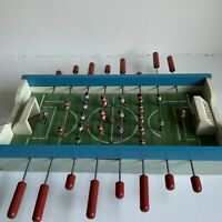 Vintage Wooden Toy Table Soccer Football Game 1950's Rare And Unusual