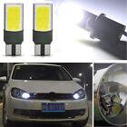 White Light Bulb T10 W5W 194 168 No Error COB Canbus Side Lamp Wedge 6W LED 2PCS