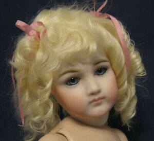 "41CM(16"") PORTRAIT JUMEAU WITH JOINTED JUMEAU BODY  UNDRESSED REPRODUCTION"