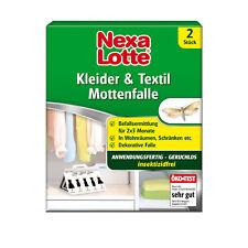 Nexa Lotte Kleider- und Textilmottenfalle - Pheromonfalle Mottenfalle Motten