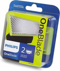 Philips OneBlade Replacement Blade for Trim, Edge & Shave, 2 pack QP220/50