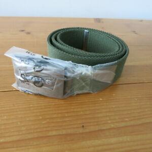 """Mens / Unisex Levi's """"Batwing"""" Khaki Canvas Webbing Belt - One size / Adjustable"""