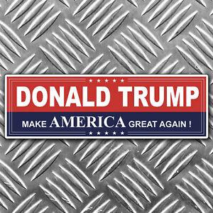 TRUMP make america great again - bumper sticker 184mm x 58mm