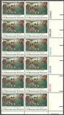 Scott # 1563 - Us Plate Block of 12 - Lexington-Concord - Mnh - (1975)