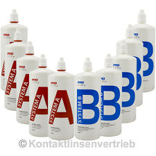 Jahrespack System A und B Prologis, 10 x360 ml 3,05€ pro 100ml (5 x A // 5 x B)
