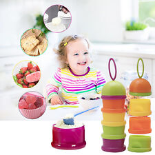 Portable Baby Infant Feeding Milk Powder Food Box Storage Food Bottle Container