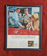 Vintage Original Mobil Oil Mobile Gas Magazine Advertising Ad