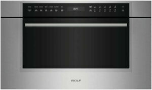 """Wolf 30"""" M Series Transitional Microwave Oven """"Open Box"""" MDD30TMSTH"""