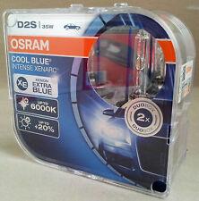 2 x Lamparas Xenon D2S Osram Cool Blue Intense 6000K Xenarc Bombillas Luz Coche