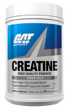 GAT Sport Essentials CREATINE 300gm 60 Servings Free Ship 2019 Expiry