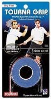 Tourna Grip Original  - Blue - 3 Pack Overgrip Overgrips Tennis